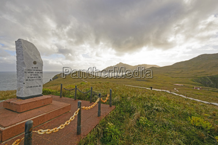 cape horn monument and dedication stone
