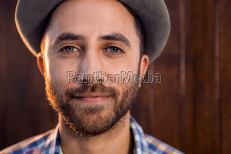 portrait of confident creative businessman in