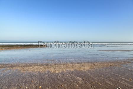 beach on the coast of the