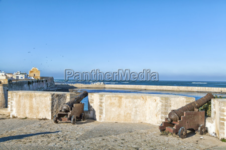 historic cannons stand in the portuguese