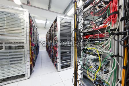 server room of data center