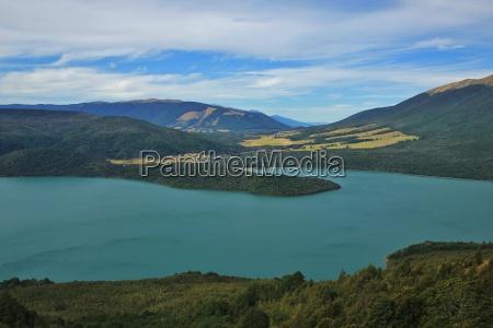 lake rotoiti view from mt robert