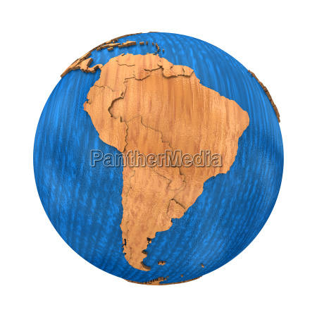south america on wooden earth