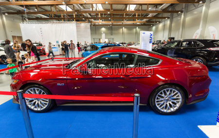 ford mustang gt displayed at