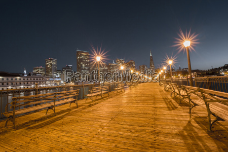 san francisco downtown from pier 7