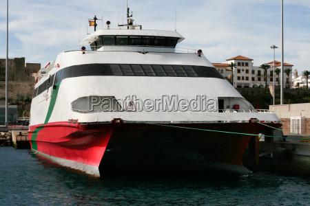 high speed ferryboat