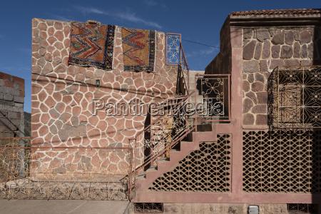 building exterior of home marrakesh morocco