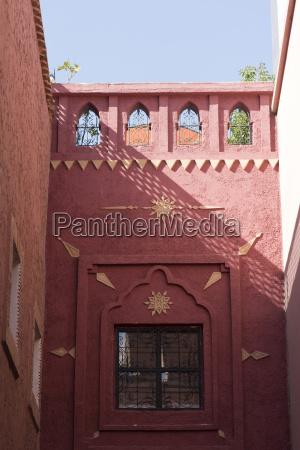 building exterior marrakesh morocco