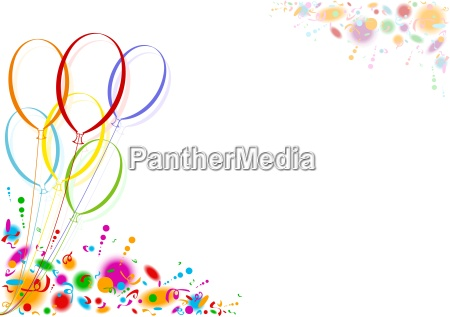 colored, party, balloons - 17722746