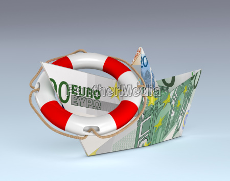 euro currency concept of safe investment