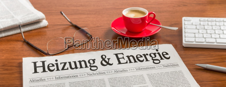 newspaper desk heating and energy