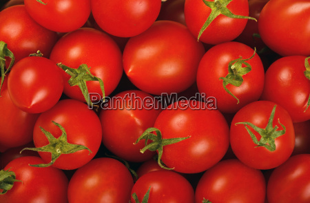 red cherry tomatoes background