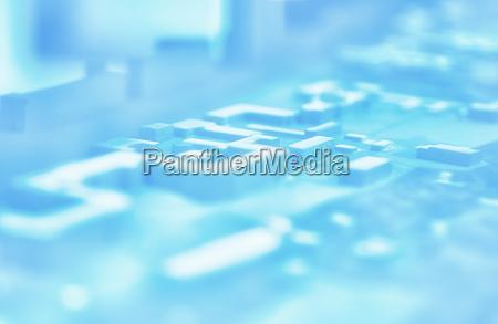 diagonal pale pcb board background