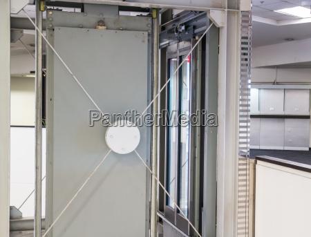 holding frame of elevator shaft
