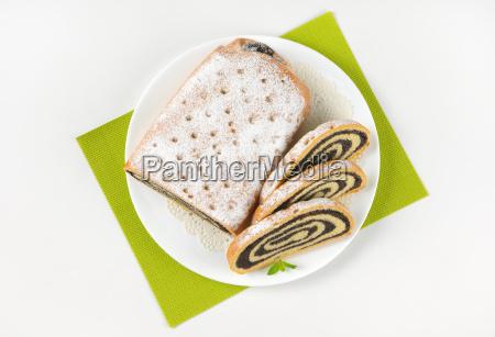 sliced, poppy, seed, roll - 17764932