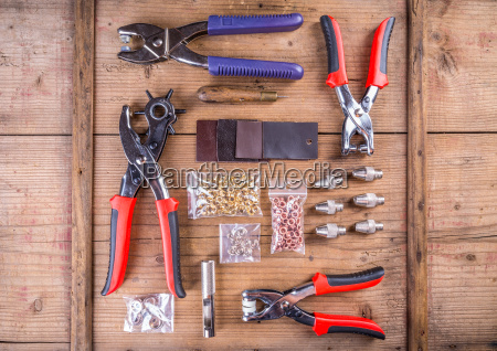 rotary leather punch tools