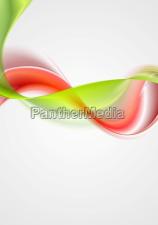 abstract colorful waves elegant background