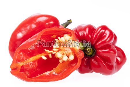 some vegetable of red chili pepper