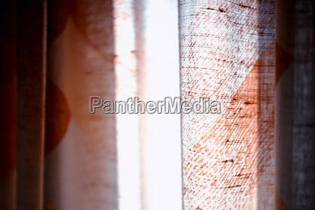 horizontal vivid brown curtain bokeh background