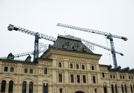 rebuilding of state department store on