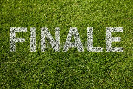 final finale in german