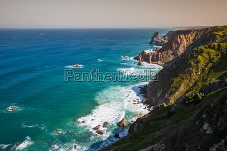 the cliffs of cabo da roca