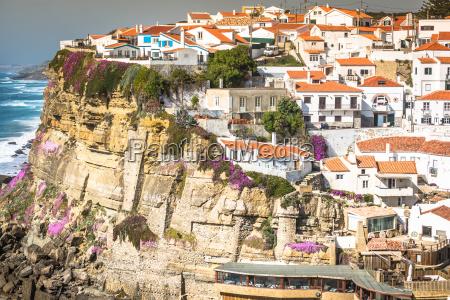 azenhas do mar white village landmark