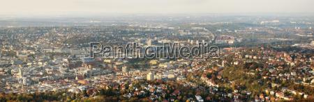 panorama of stuttgart before stuttgart 21