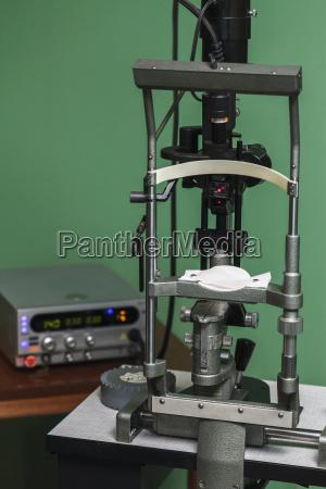 medical optometrist equipment used for