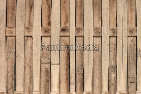 close up bamboo fence with sepia