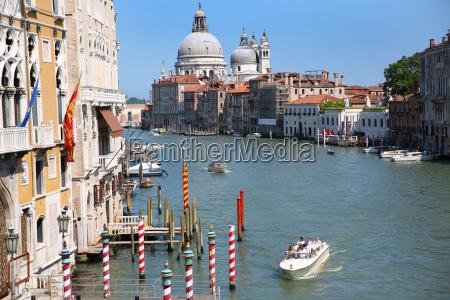 canal grande and basilica of santa