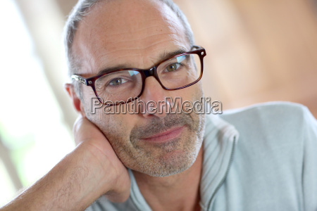 50 year old attractive man with