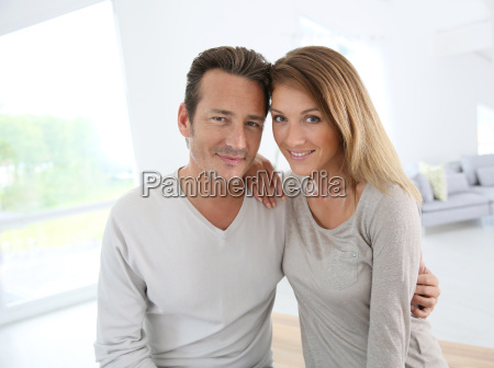 lovely 40 year old couple at