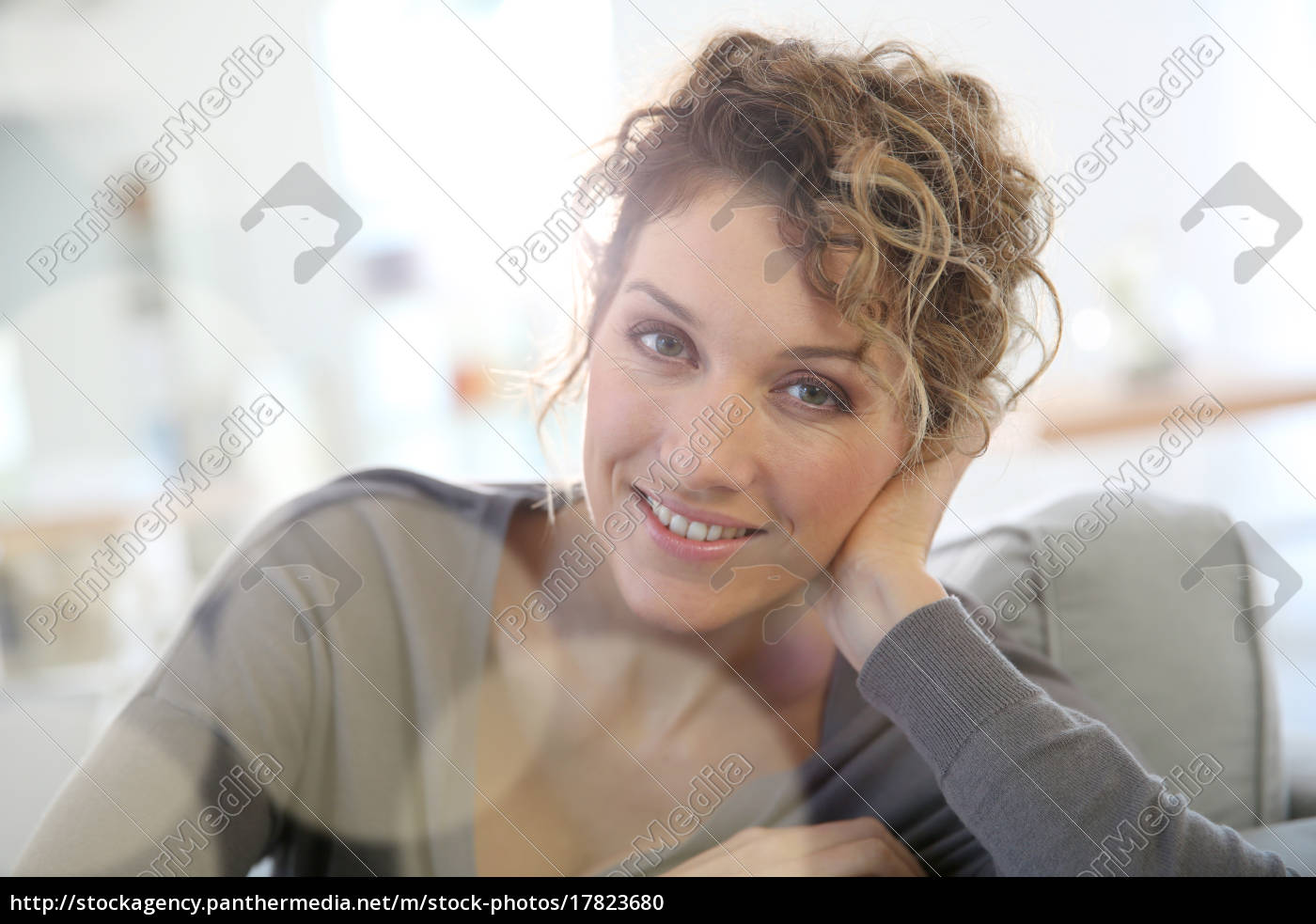 portrait, of, attractive, 35-year-old, woman - 17823680
