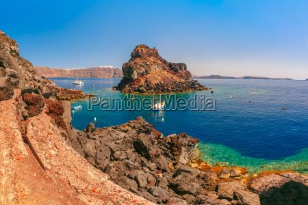 armeni bay beach oia or ia