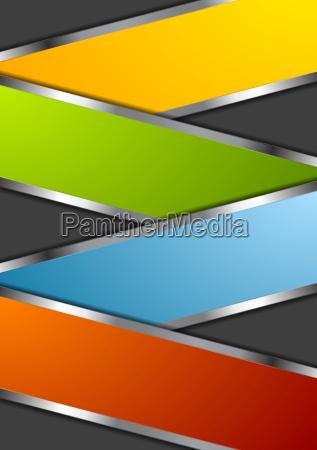 bright metal design background