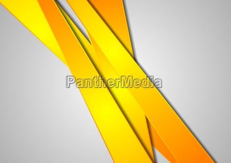 orange stripes abstract corporate background