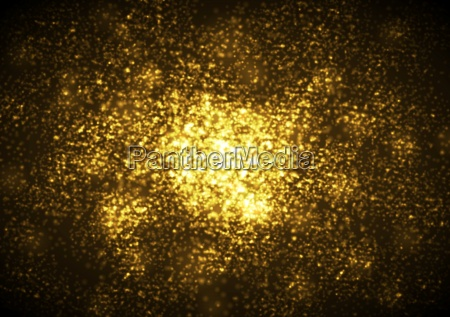 shiny golden abstract sparkling background