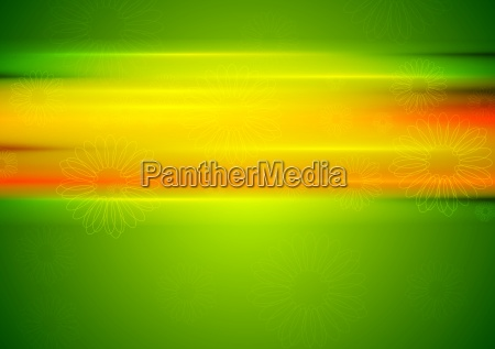 abstract summer background with glowing stripes