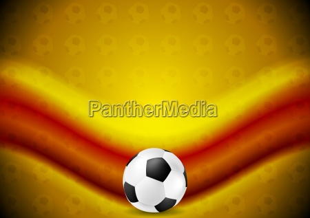 orange soccer football background with red