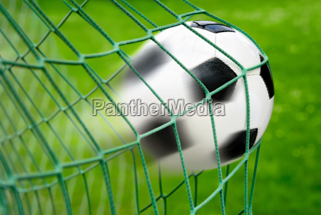 football goal with full dynamic effect