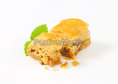 nut filled layered pastry baklava