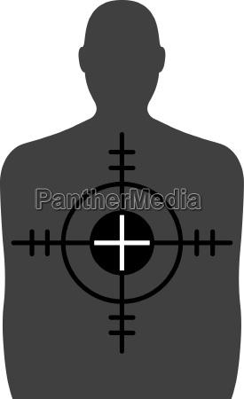 target a shooting range target