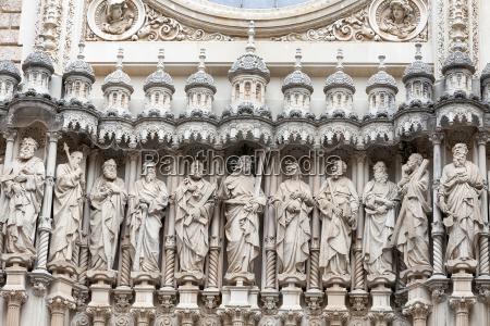facade of santa maria de montserrat