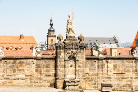 historic sculpture in bamberg