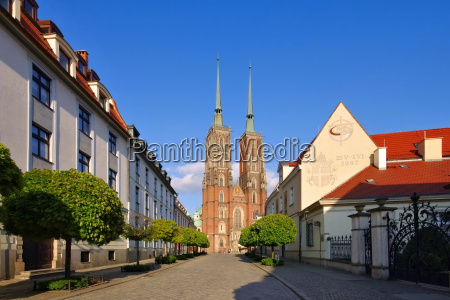wroclaw cathedral wroclaw the cathedral