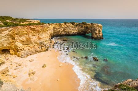 praia de albandeira beautiful coast