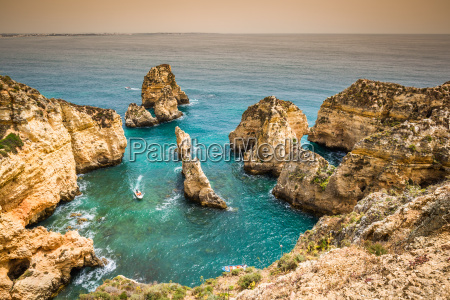 rocks and rocky beach in portugal