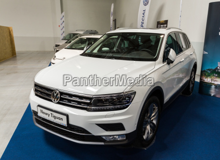 vw tiguan displayed at 3rd