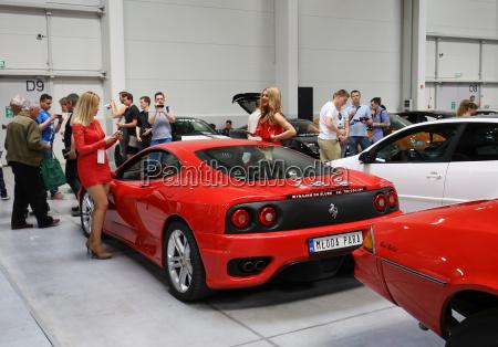 ferrari car displayed at 3rd edition